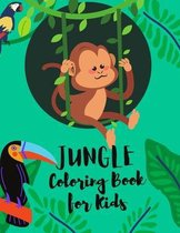 Jungle Coloring Book for Kids