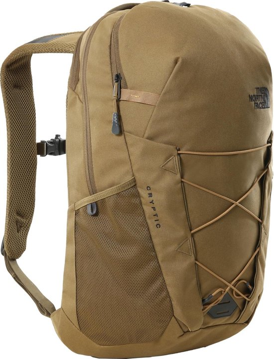 The North Face Cryptic Rugzak - Unisex - bruin/groen