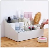 Make-Up Organizer - Opbergdoos - Cosmetica - Wit/Creme  -Sieraden - Nagelak - make up organizer - make up organizers