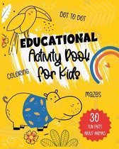 Educational Activity Book for Kids