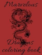 Marvelous Dragons coloring book