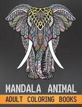 Mandala Animal Adult Coloring Books