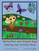Butterflies and Winged Bugs Coloring and Activity Book