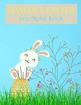 Mandala Easter Coloring Book