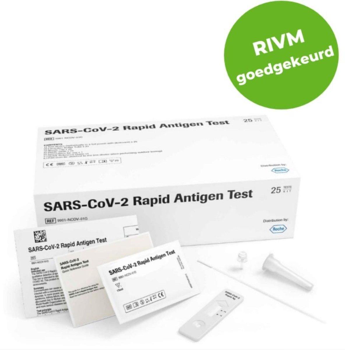 5 stuks- Covid-19 - corona - (SARS-CO-2) ZELFTEST - zelf test - SNELTEST - snel test - Antigeen