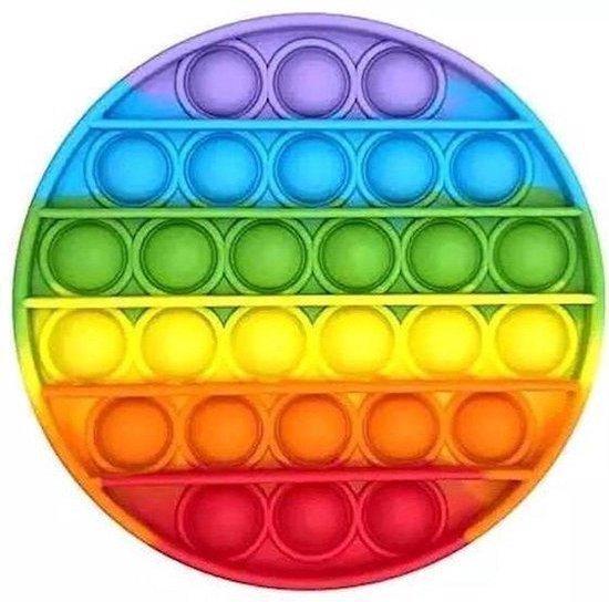 ZTWK© - Fidget toys pop it  - Fidget toys + 1 pea popper - Regenboog