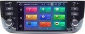 Fiat Grande Punto Linea met ingebouwde CarPlay 2012-2015 Android 10 navigatie en multimediasysteem dvd bluetooth usb wifi 2+16GB