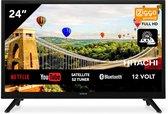 Hitachi 24HE2202 SMART Wifi 24 inch 61cm HD ready LED TV DVB-S2/C/T2 - 12V en 220V