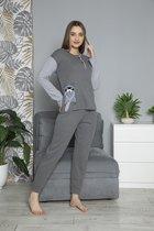 ⭐Derin's Dames Luxe Pyjama | 2-delige Set | Lange Mouwen | Pyjama Dames Volwassenen | Pyjama Dames | Maat M