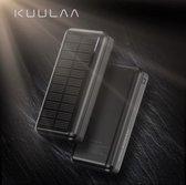 Kuulaa - Solar Powerbank - Powerbank - Powerbank 20000 mah - iPhone Powerbank - Samsung Powerbank