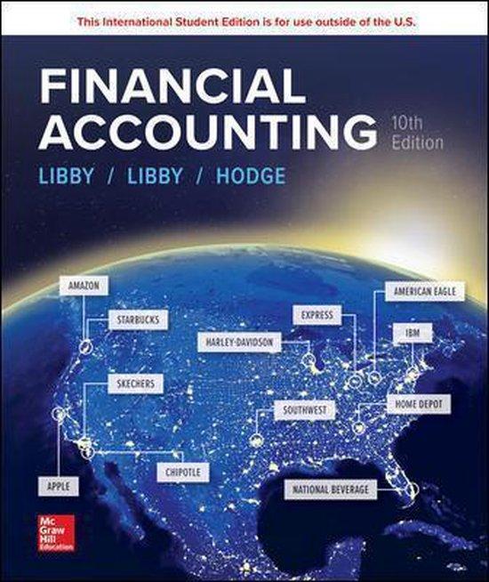 Boek cover ISE Financial Accounting van Robert Libby (Paperback)