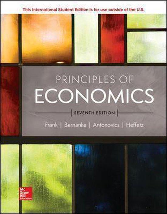 Boek cover ISE Principles of Economics van Robert Frank