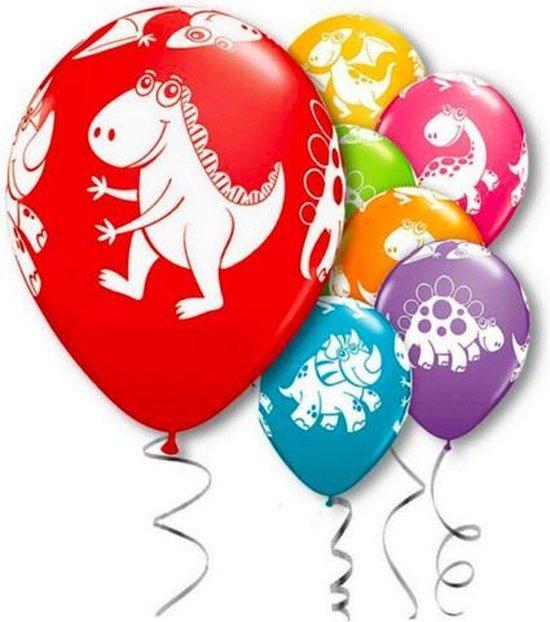 ProductGoods - 10x Dinosaurus 3 Ballonnen Verjaardag - Verjaardag Kinderen - Ballonnen - Ballonnen Verjaardag - Dino - Dinosaurus - Kinderfeestje