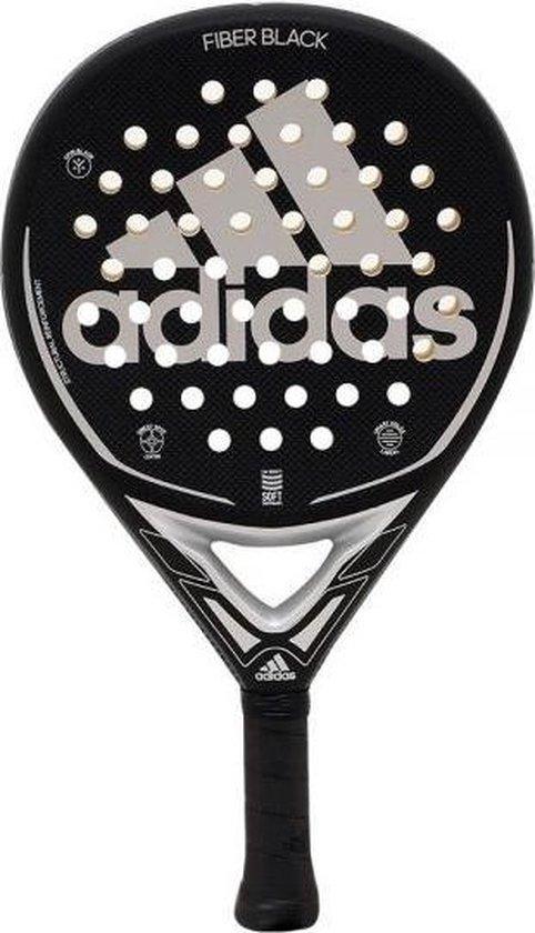 Adidas Fiber Black Padel Racket 2021
