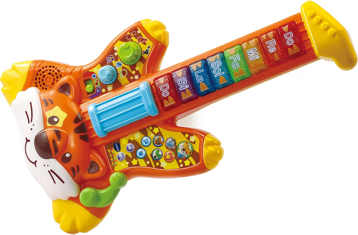 Vtech Speel & Zing Dierengitaar - Educatief Babyspeelgoed