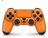 Playstation 4 Controller Skin Oranje Sticker