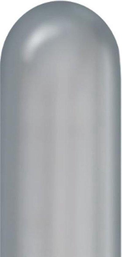 Modelleerballonnen 260Q Chrome Silver - 100stuks