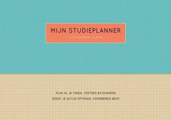 Mijn studieplanner (met uitscheurbare bladen)