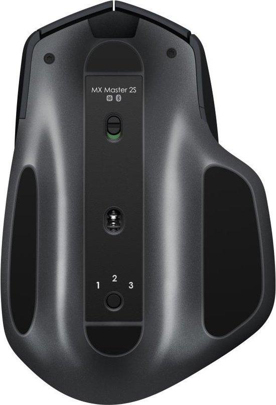 Logitech MX Master 2S - Draadloze Muis - Zwart