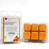 Keystone Candle 6 Soy Wax Melts Mango Spritzer