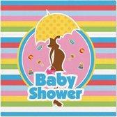 Servetten Babyshower