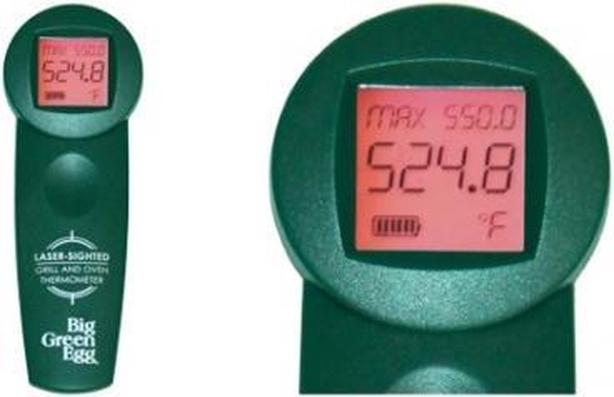 Big Green Egg BBQ - Professional Infrared Cooking Surface Thermometer