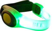 Led armband - GROEN - safety band - veiligheidsarmband - armband - hardloop band