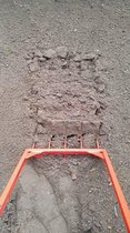 Woelvork Spitvork 5 tanden 52cm breed 25 cm diep Polet