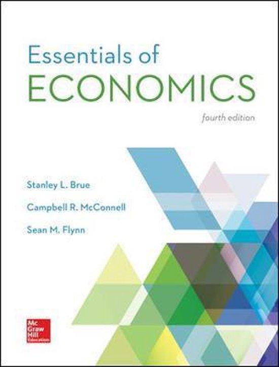 Boek cover ISE Essentials of Economics van Stanley Brue (Paperback)