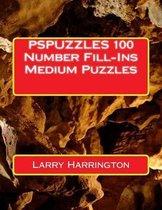 Pspuzzles 100 Number Fill-Ins Medium Puzzles