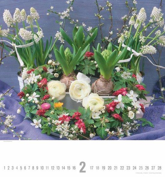 Bloemen - Bouquets 45x48 Kalender 2018