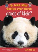 Boek cover Ik lees slim : weetjes over dieren - Groot of klein? van Anneriek van Heugten