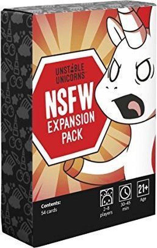Bol Com Unstable Unicorns Unstable Unicorns Nsfw Expansion Pack Games