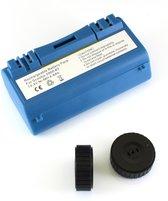 NiMh accu, batterij 4800 mAh voor Scooba (385, 5800, etc) met 2 wieltjes voor iRobot Scooba