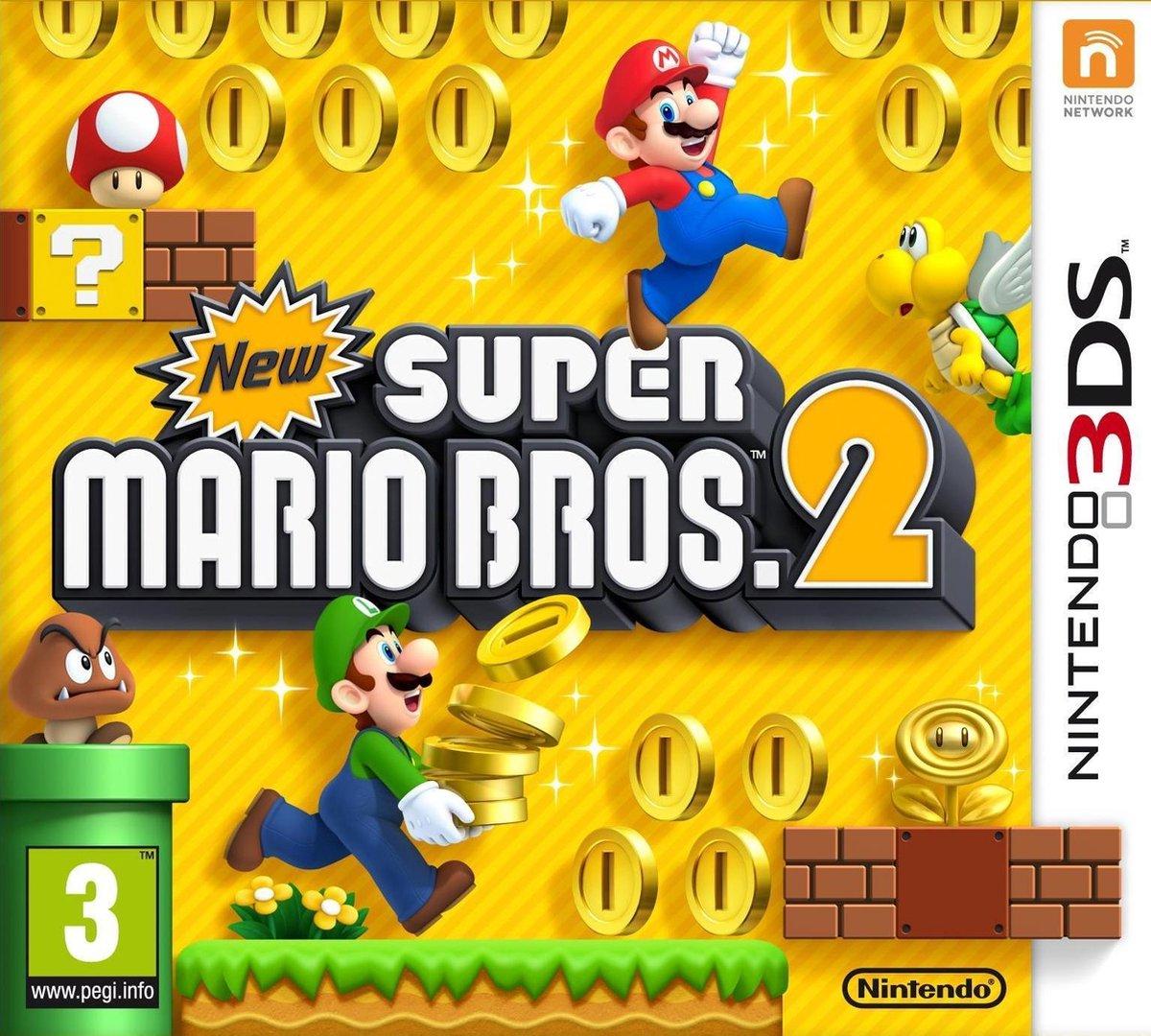 New Super Mario Bros 2 - 2DS + 3DS - Nintendo