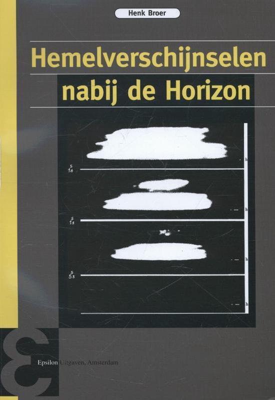 Epsilon uitgaven 77 - Hemelverschijnselen nabij de horizon - Henk Broer   Fthsonline.com