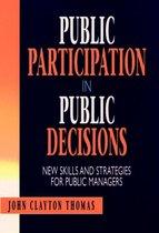 Public Participation in Public Decisions