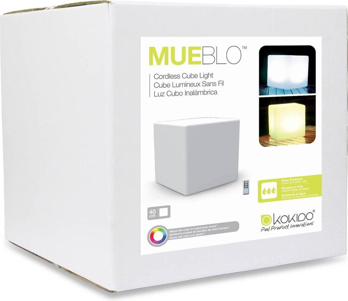 !!MUEBLO Illuminated Cube - 40cm