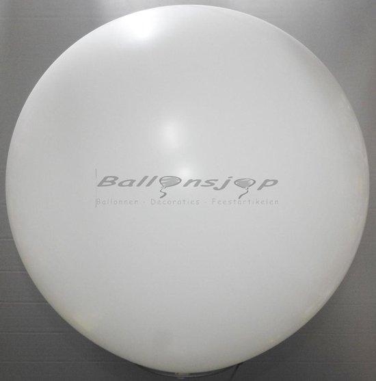 reuze ballon 60 cm  24 inch  wit