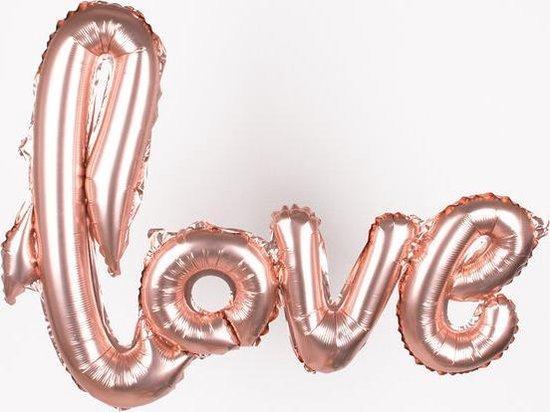 Folie helium ballon Love 108x65cm