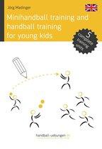 Minihandball and handball training for young kids