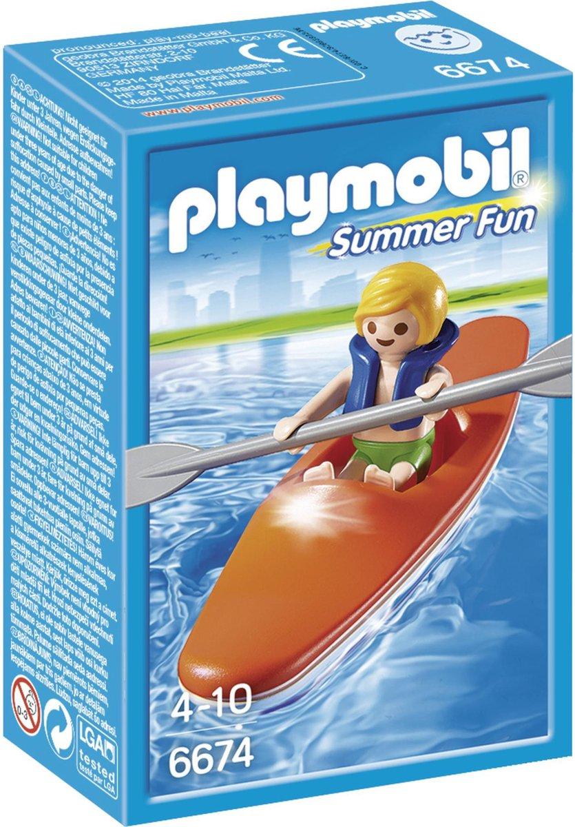 PLAYMOBIL Kinderkajak - 6674