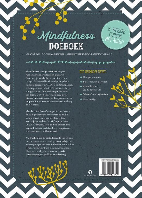 Mindfulness Doeboek - Eva Brobbel