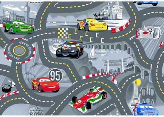 Afbeelding van Disney Cars - Speelkleed Grijs - 95x133cm speelgoed
