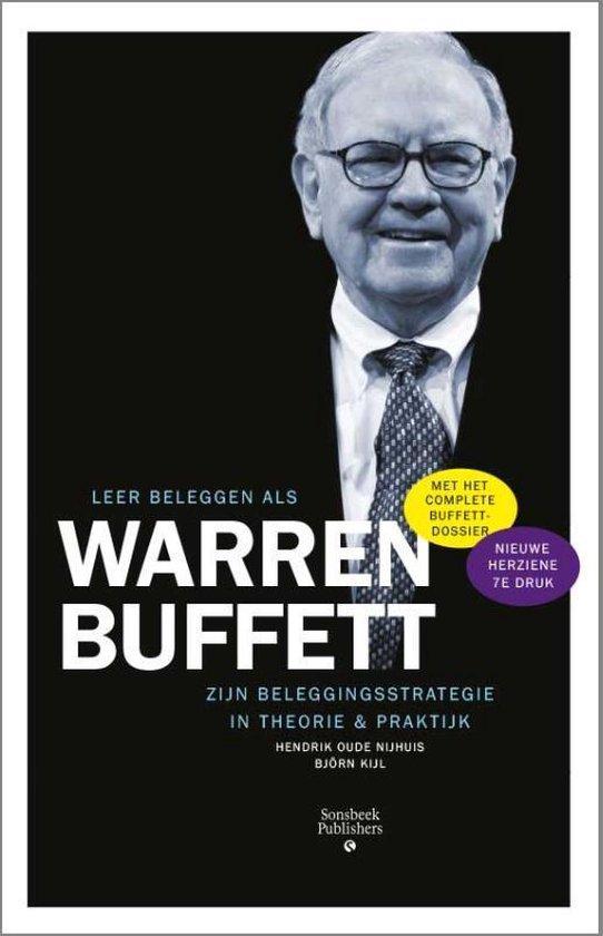 Boek cover Leer beleggen als Warren Buffett van Hendrik Oude Nijhuis (Paperback)