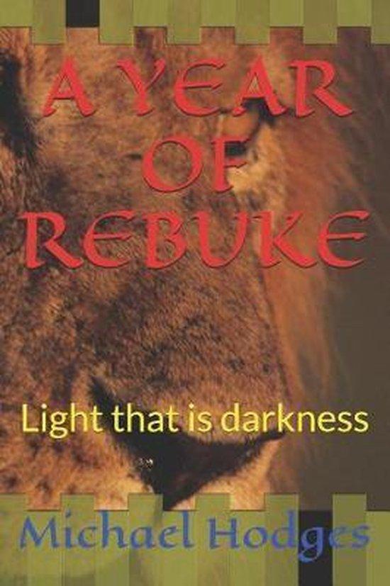 A Year of Rebuke