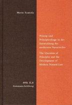 Prinzip Und Prinzipienfrage in Der Entwicklung Des Modernen Naturrechts