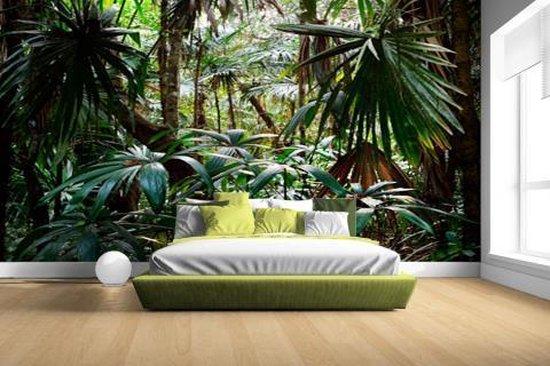 Planten in regenwoud Fotobehang 380x265