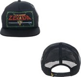 Zelda Game Logo Black Trucker Cap