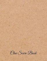 Clue Score Book